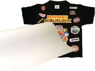 Flock Sublimable Textil 1m. X 50cm Vinil Textil Subliflock