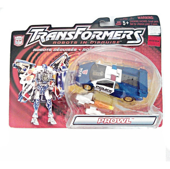 Transformers Prowl Blue Autobot Robots In Disguise Vintage