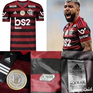 Camisa Oficial De Jogo Do Flamengo 2019/2010
