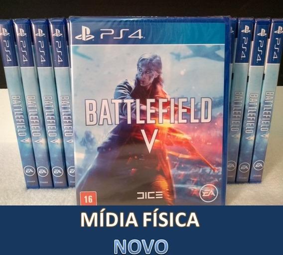 Battlefield 5 V Ps4 Midia Fisica Português Pronta Entrega