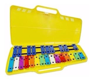 Metalofono (glokenspiels) Cromatico C.s.m. Con Estuche
