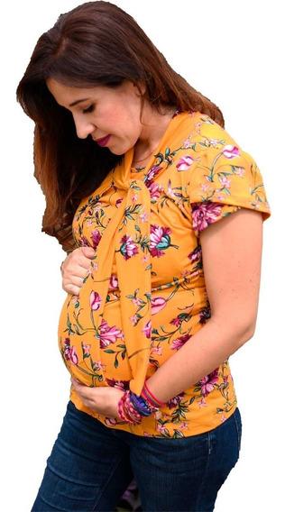Blusa De Lactancia Y Embarazo Ropa Maternidad- Valeria