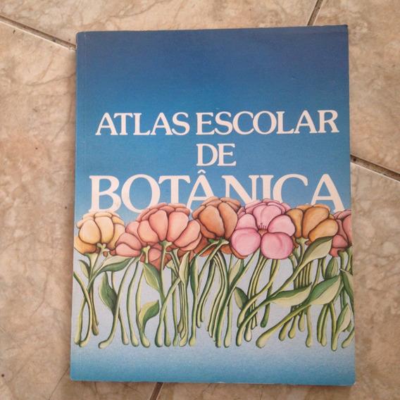 Livro Atlas Escolar De Botânica Fae - 1986 1ª Ed. C2