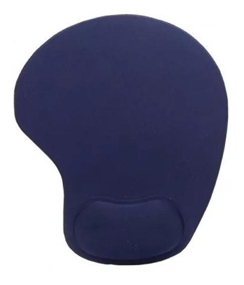 Mouse Pad Suporte Pé De Mouse Com Descanso De Punho Azul