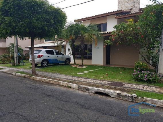 Casa Com 4 Dormitórios Para Alugar, 200 M² Por R$ 2/mês - Praia Do Flamengo - Salvador/ba - Ca0176