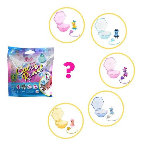 Juego De Mascotas Barbie Color RevealSet 5 Sopresas
