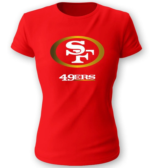 Playera 713 San Francisco 49ers Talla S M L Xl Dama