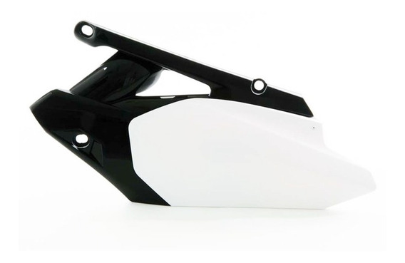 Number Plate Lateral Moto Yamaha Yzf 450 10-13 Branco Wrp