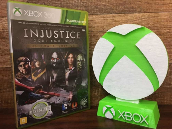 Injustice God Among Us Ultimate Edition Xbox 360 Original