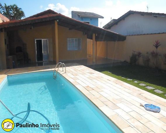 Imóvel Com Piscina Para Locação De Temporada Em Peruíbe - Ca02993 - 3464381
