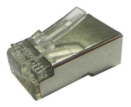 Conector Rj45 Seccon 8x8 Cat5 Blindado - Cy-7014 - 100pçs