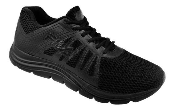 Zapatillas Fila Hombre Running Correr Deportivas Entrenamiento Caucho