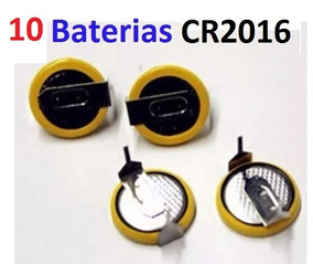 Bateria Cr2016 Cartucho C Pinos Solda - Verifique Seu Modelo