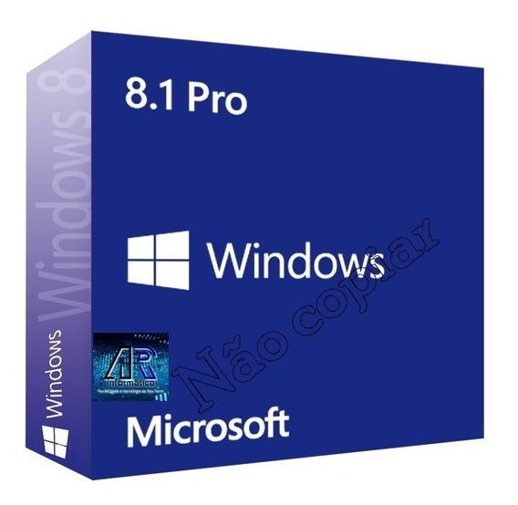 Windws8.1 Pro-chave Fpp-licença Orignal Vitalícia+garantia