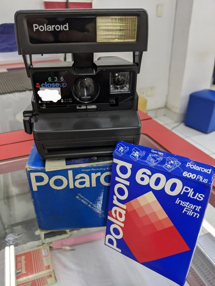 Câmera Polaroid Close Up 636 Raridade!