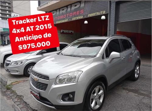 Chevrolet Tracker 1.8 Ltz+ Awd At  2015,$975.000 Y Ctas