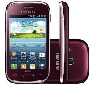 Celular Samsung Galaxy Young Plus Vermelho