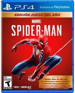 Spiderman Juego Del Año Ps4 En Español (en D3 Gamers)