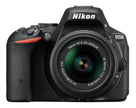 Nikon D5500 Kit 18-55mm Af-p 24.2mp