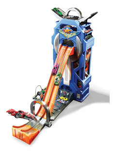 Hot Wheels City, Mega Garage Giratorio