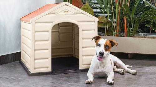 Casa Perro Pequeños Medianos Rimax 100% Polipropileno