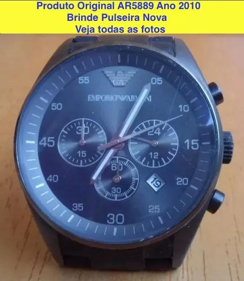 Relógio Emporio Armani Cronógrafo * Original *