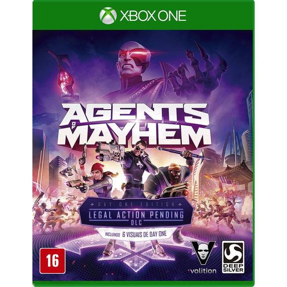 Jogo Agents Of Mayhem - Xbox One Midia Fisica