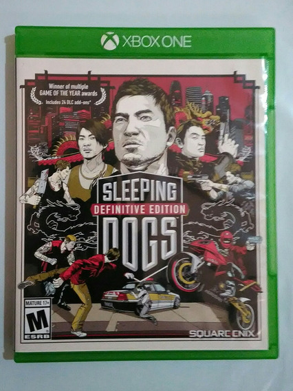 Sleeping Dogs Definitive Edition Xbox One Mídia Física