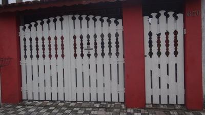 Linda Casa Com Piscina Á Venda Em Mongaguá!! Ref 5796
