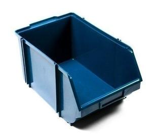 Caixa Box 6 Para Organizador Azul 18x30x15 12un 15745
