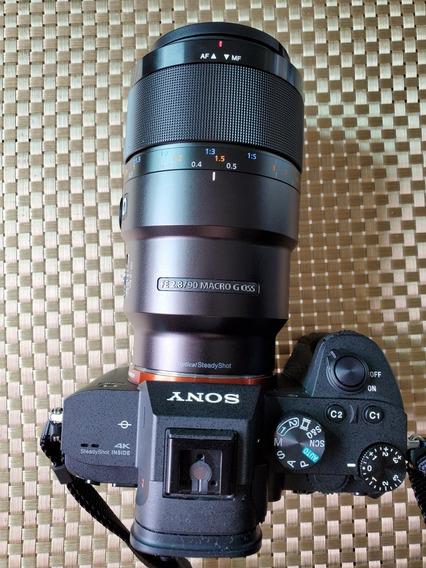 Lente Sony 90mm Macro F/2.8
