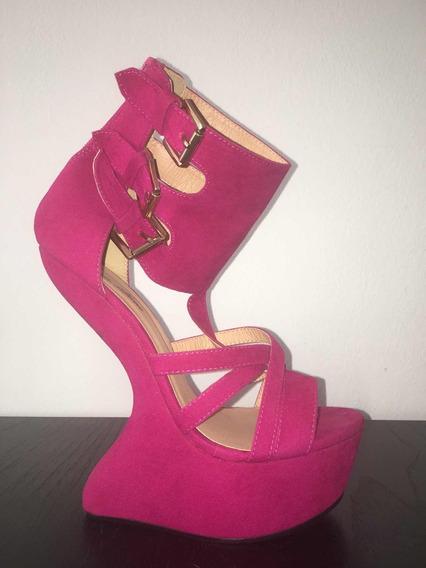 Zapatos Importados De Eeuu. Talle 7.5 Eeuu. 38 Arg. Rosa