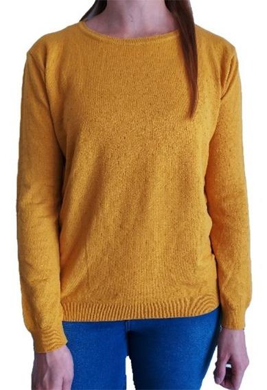 Sweater Mujer Importado Cuello Redondo Bremer