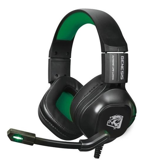Headset Gamer Elg Genesis - Verde