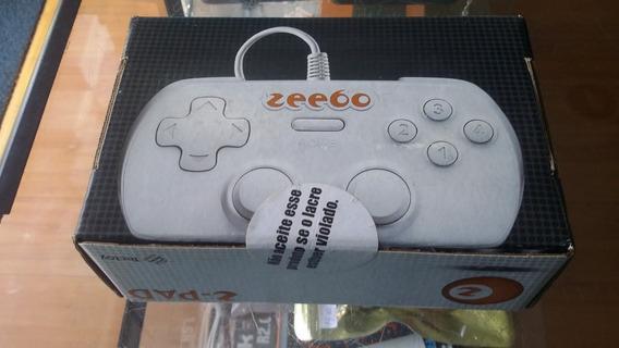 Controle Zeebo Usb No Lacre (retro)