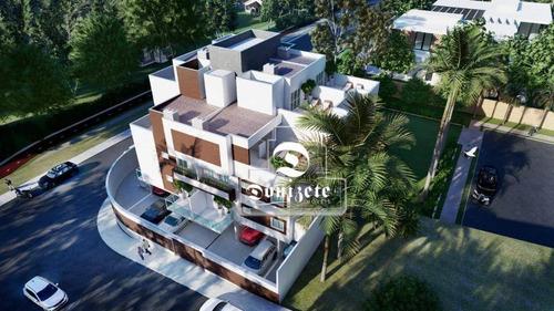 Cobertura À Venda, 81 M² Por R$ 451.000,00 - Jardim Pilar - Santo André/sp - Co11797