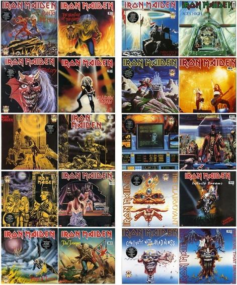 Lp Iron Maiden (coleçao Eps 18 X 7 ) (novos / Raros)