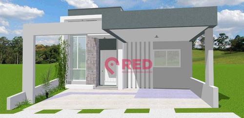 Imagem 1 de 7 de Casa Com 3 Dormitórios À Venda, 122 M² Por R$ 440.000,00 - Condomínio Horto Florestal Iii - Sorocaba/sp - Ca0586