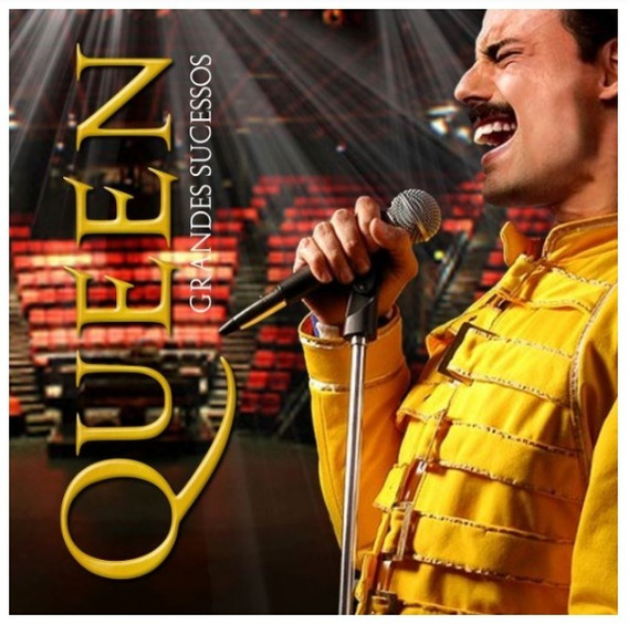 Cd Queen - Grandes Sucessos - Lacrado