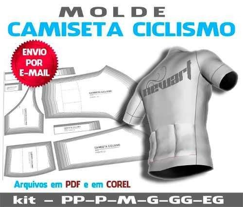 Moldes Camisetas Para Ciclismo Do Pp Ao Extg