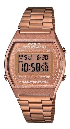 Reloj Casio Retro B-640wc Digital Oro Rosa Unisex Original