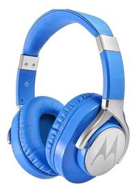 Fone De Ouvido Motorola Pulse Max Wired C Microfone - Azul