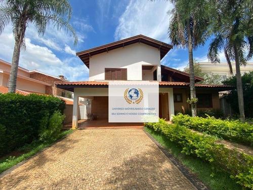 Imagem 1 de 23 de Casa Com 4 Dormitórios À Venda, 400 M² Por R$ 1.800.000,00 - Residencial Barão Do Café - Campinas/sp - Ca1393
