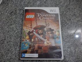 Jogo Nintendo Wii Lego Piratas Do Caribe - Mídia Física