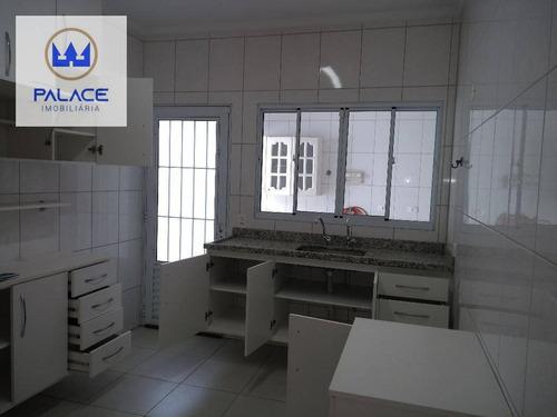 Casa À Venda, 115 M² Por R$ 360.000,00 - Parque Conceição Ii - Piracicaba/sp - Ca0331