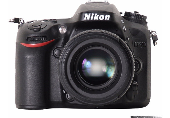Câmera Nikon D7200 24.2 Mp Wi-fi Kit 18-55mm ! Nova !