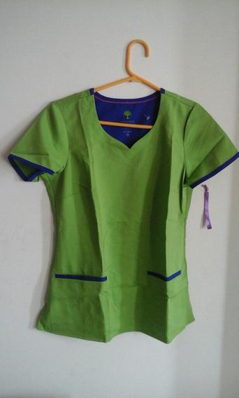 Uniforme Medico Talla Xs Marca Purple Label. Color Verde