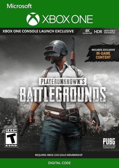 Playerunknowns Battlegrounds Pubg Xbox One Código 25 Dígitos
