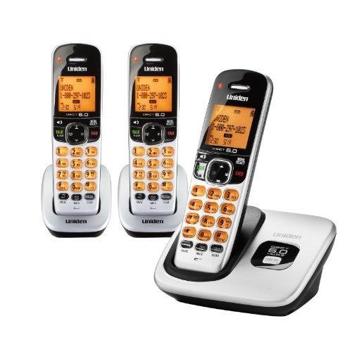 D1760-3 Dect 6.0 Teléfono Inalámbrico Expansible Con Identif
