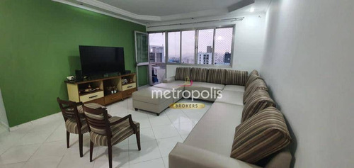 Imagem 1 de 30 de Apartamento À Venda, 114 M² Por R$ 705.000,00 - Santo Antônio - São Caetano Do Sul/sp - Ap6102